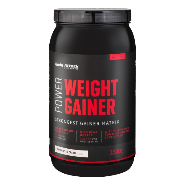 Body Attack Power Weight Gainer, 1,5kg