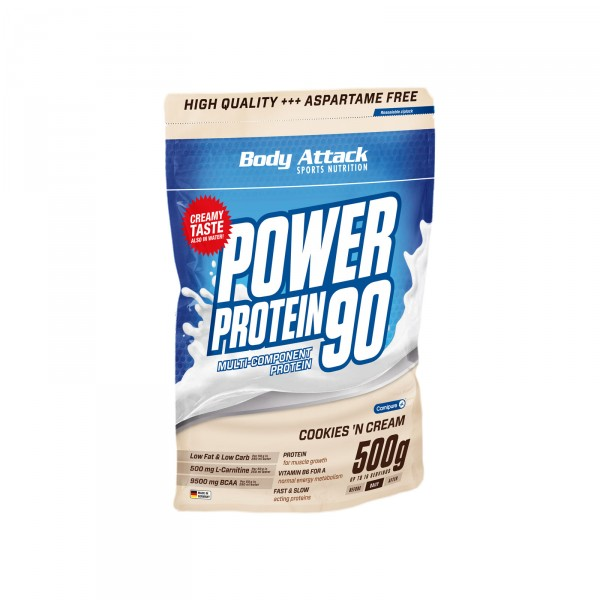 Body Attack Power Protein 90 NEW, 500g