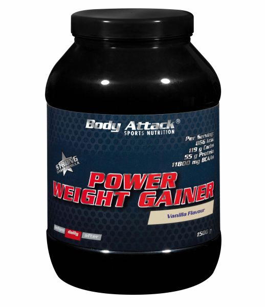 Body Attack Mass Gainer Power