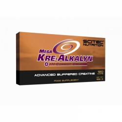 SCITEC Mega Kre-Alkalyn, 120 Caps purchase online now