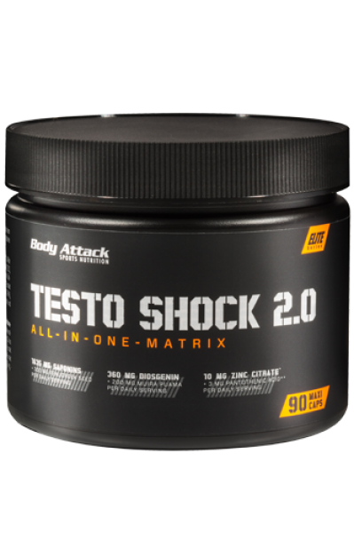 Body Attack Testo Shock 2.0