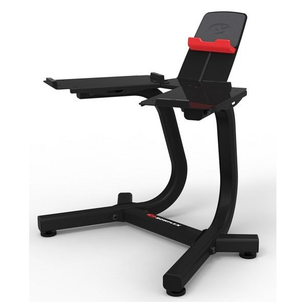 Support Bowflex avec Media Rack