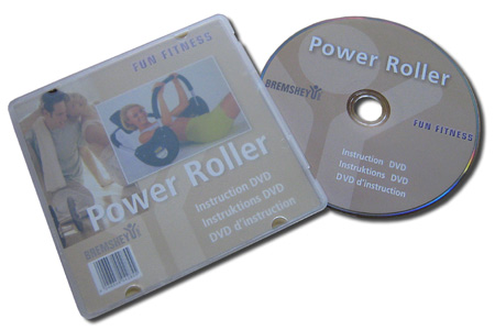 Bremshey øvelses-DVD for Power-Roller