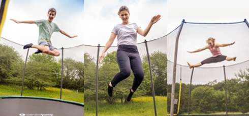Figure: En trampoline for hele familien