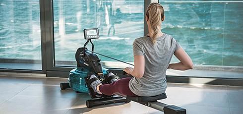 Figure: Rowing like on water