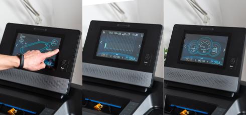 Cinta de Correr cardiostrong TX70 1 aparato, 3 modos de indicación