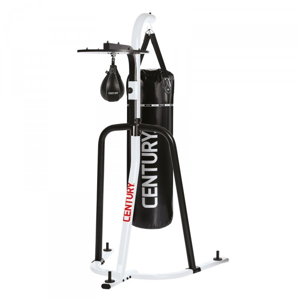 Century Heavy Bag punching bag stand with Speed Bag Platform
