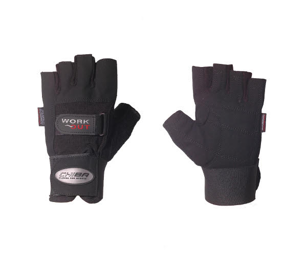 Chiba Workout Line Wrist Protect fitness gloves