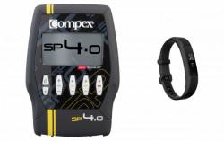 Compex Muskelstimulator SP 4.0 + Alta HR Gunmetal L jetzt online kaufen