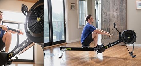 Concept2 Vogatore RowErg Monitora e misura gli obiettivi di allenamento