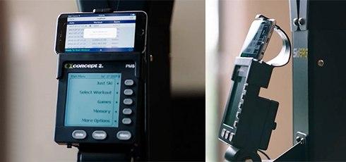 Concept2 SkiErg PM5, Wandmodell Erfolge überwachen & messen