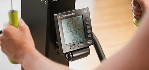 Concept2 SkiErg PM5, Wandmodell Leistungsstarker PM5 Monitor mit Bluetooth-Funktion