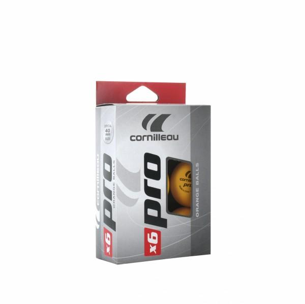Cornilleau Tischtennisball Pro 6er Pack
