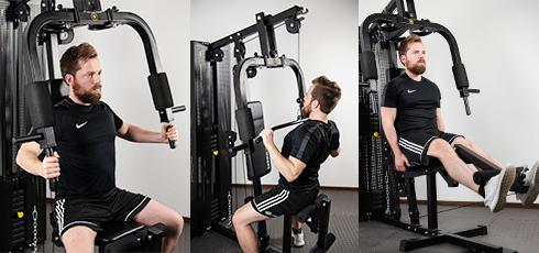 Figure: Aparato de entrenamiento versátil