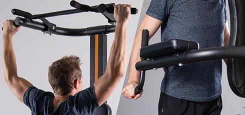 Bild: Training mit dem eigenen Körpergewicht