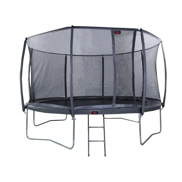 Dino Cars trampoline Proline inkl. stige og sikkerhetsnett