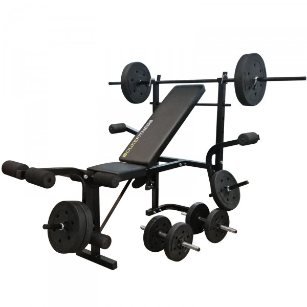 Duke Fitness Dumbbell Bench Set
