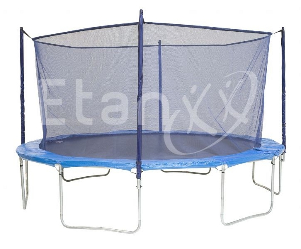 etan universelles sicherheitsnetz f r trampoline blau. Black Bedroom Furniture Sets. Home Design Ideas