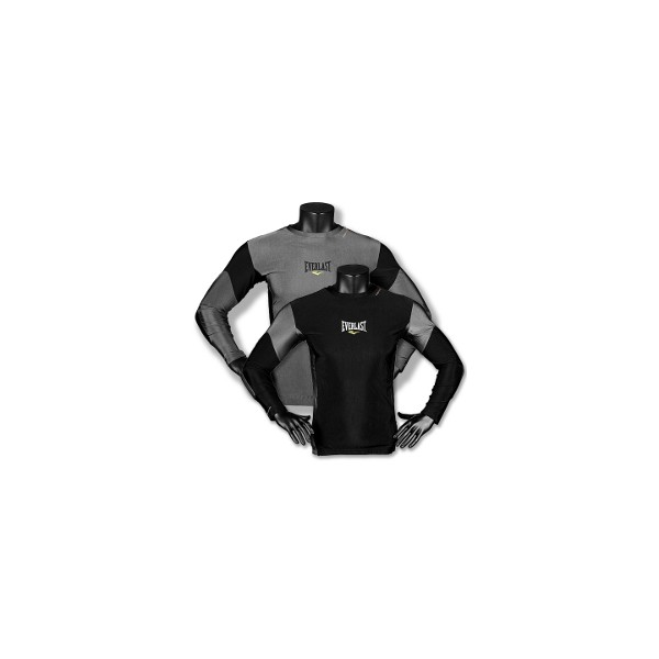 Everlast Mens's SLV Rash Guard Contrast Panel