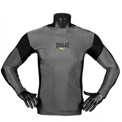 Everlast Men's L/S Rash Guard Contrast Panel Detailbild