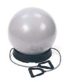 Everlast Pilates Ball mit Resistance Tubes