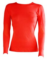 FalkeComfort Cool Long Sleeve Women, rossa Detailbild