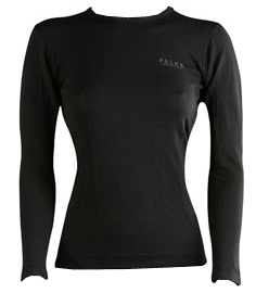 FalkeComfort Cool Long Sleeve Women, rossa