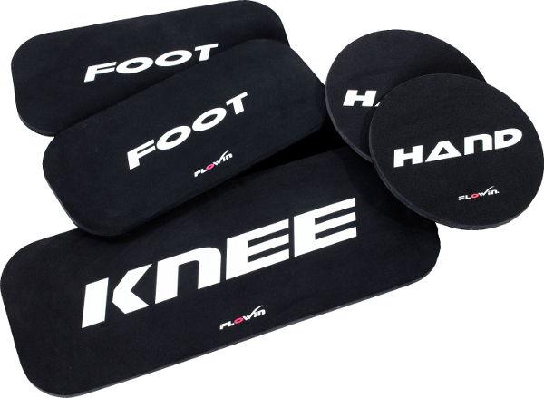 Flowin Friction Körpergewichtstraining Pad Kit
