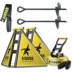 Gibbon Slackline Independence kit Classic purchase online now