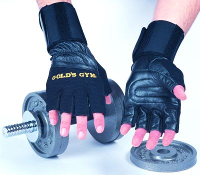 Gold`s Gym training gloves