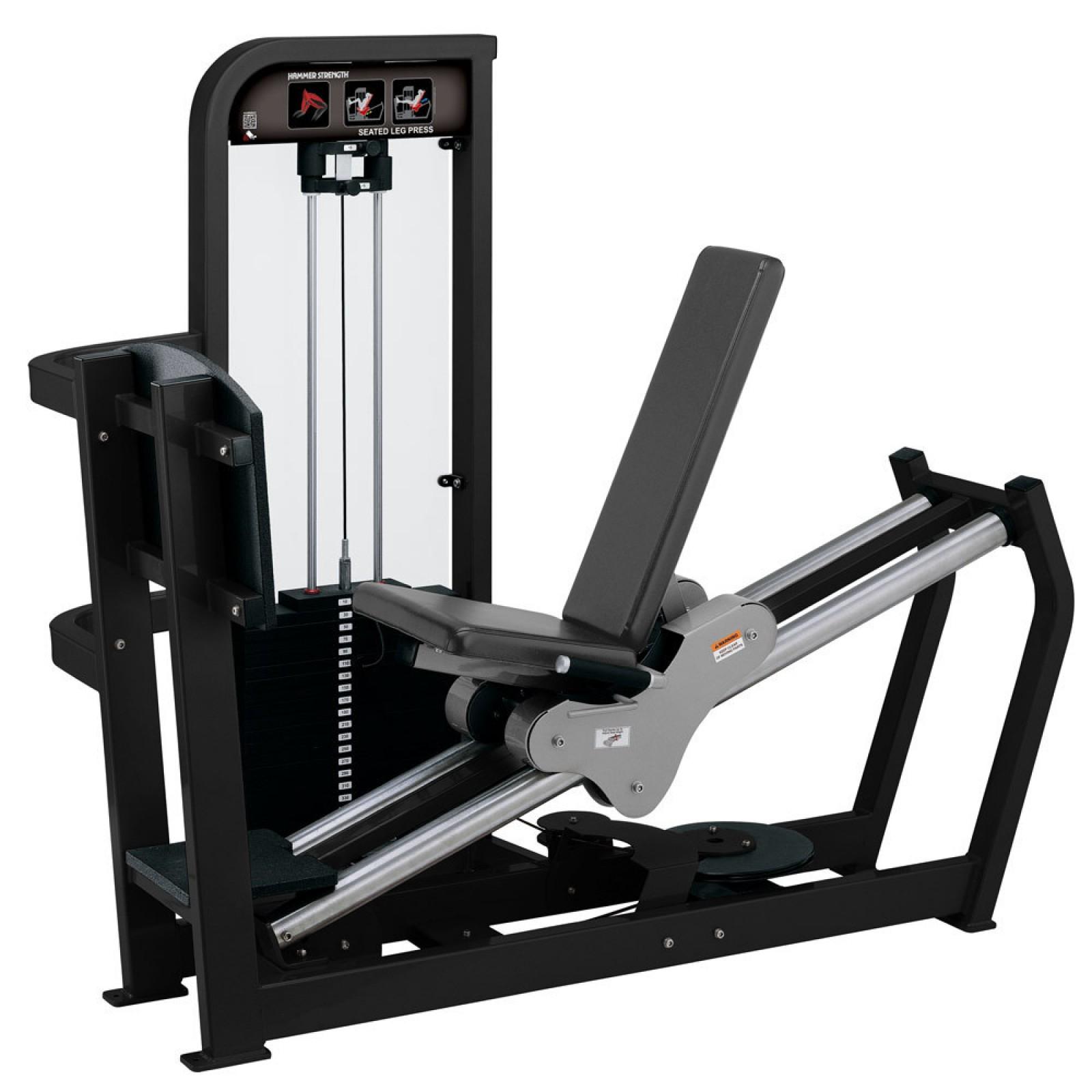 hammer strength by life fitness kraftstation se seated leg press sport tiedje. Black Bedroom Furniture Sets. Home Design Ideas