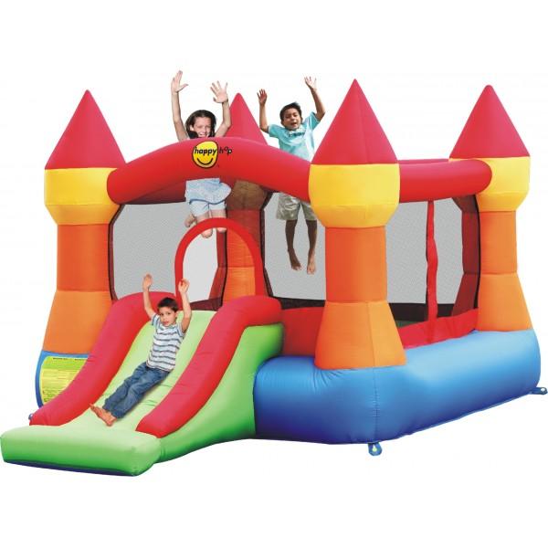 HappyHop bouncy castle Schloss