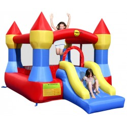 HappyHop bouncing castle Castle with slide purchase online now