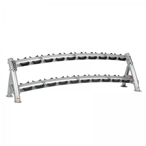 Hoist 2-Tier Dumbbell Rack