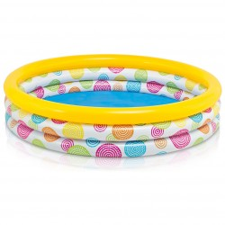 Intex Pool 3-Ring Cool Dots 147x33 handla via nätet nu
