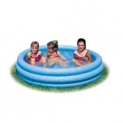 Intex Pool 3-Ring Crystalblue 147x33 kjøp online nå
