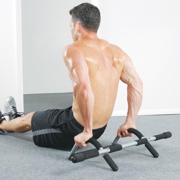 Rebecca Mobili Verstellbare Klimmzugstange Bodybuilding Türrahmen 38x93