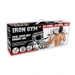 Iron Gym Klimmzugreck Version Detailbild