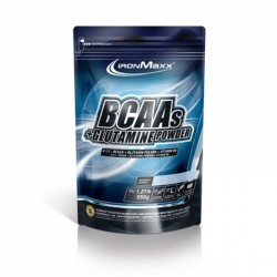 IronMaxx BCAAs + Glutamine - Beutel 550g purchase online now