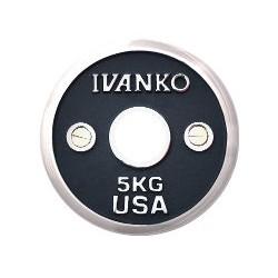 Ivanko disque d'haltères chrome calibré 50mm