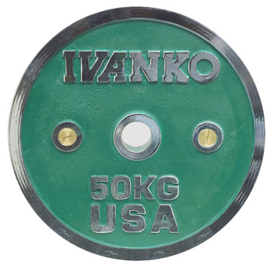 Ivanko Hantelscheibe Chrom 50 mm
