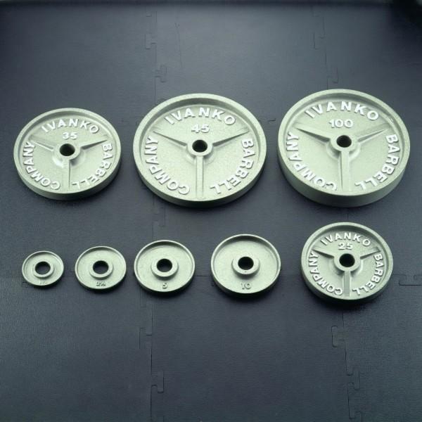 Ivanko Weight Rack: Ivanko Weight Plate Machined Plate