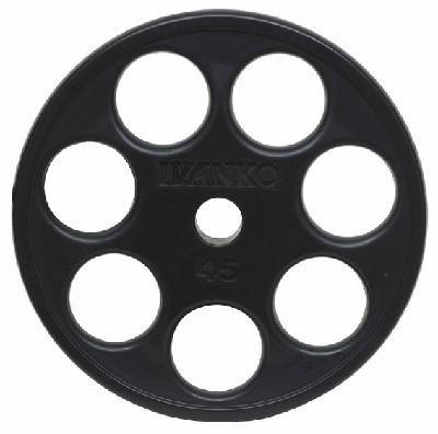 Ivanko disque d'haltère Rubber E-Z Lift 50mm