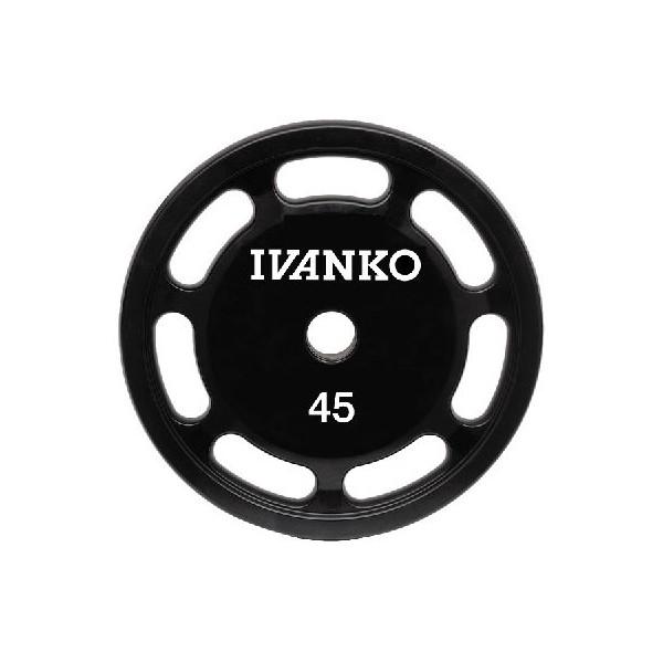 Ivanko disque d'haltère uréthane 50mm