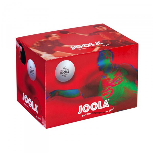 Joola bordtennisball Magic Ball 72 stk, hvit