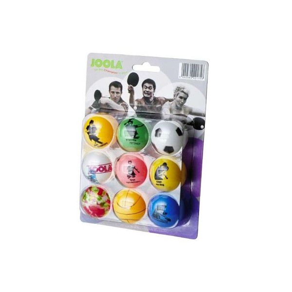 Table tennis balls Joola Fan, 9 Blister