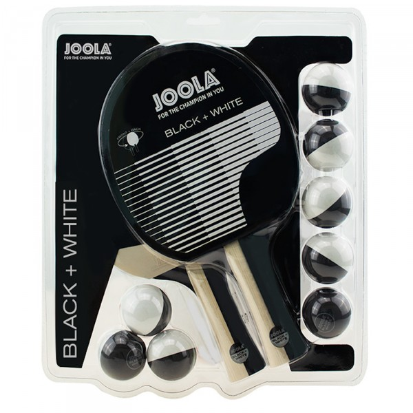 Joola bordtennissett Black White