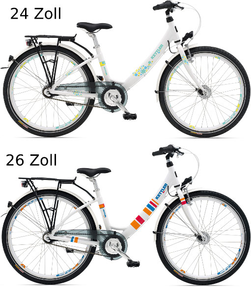 kettler kinderfahrrad layana 24 26 zoll sport tiedje. Black Bedroom Furniture Sets. Home Design Ideas