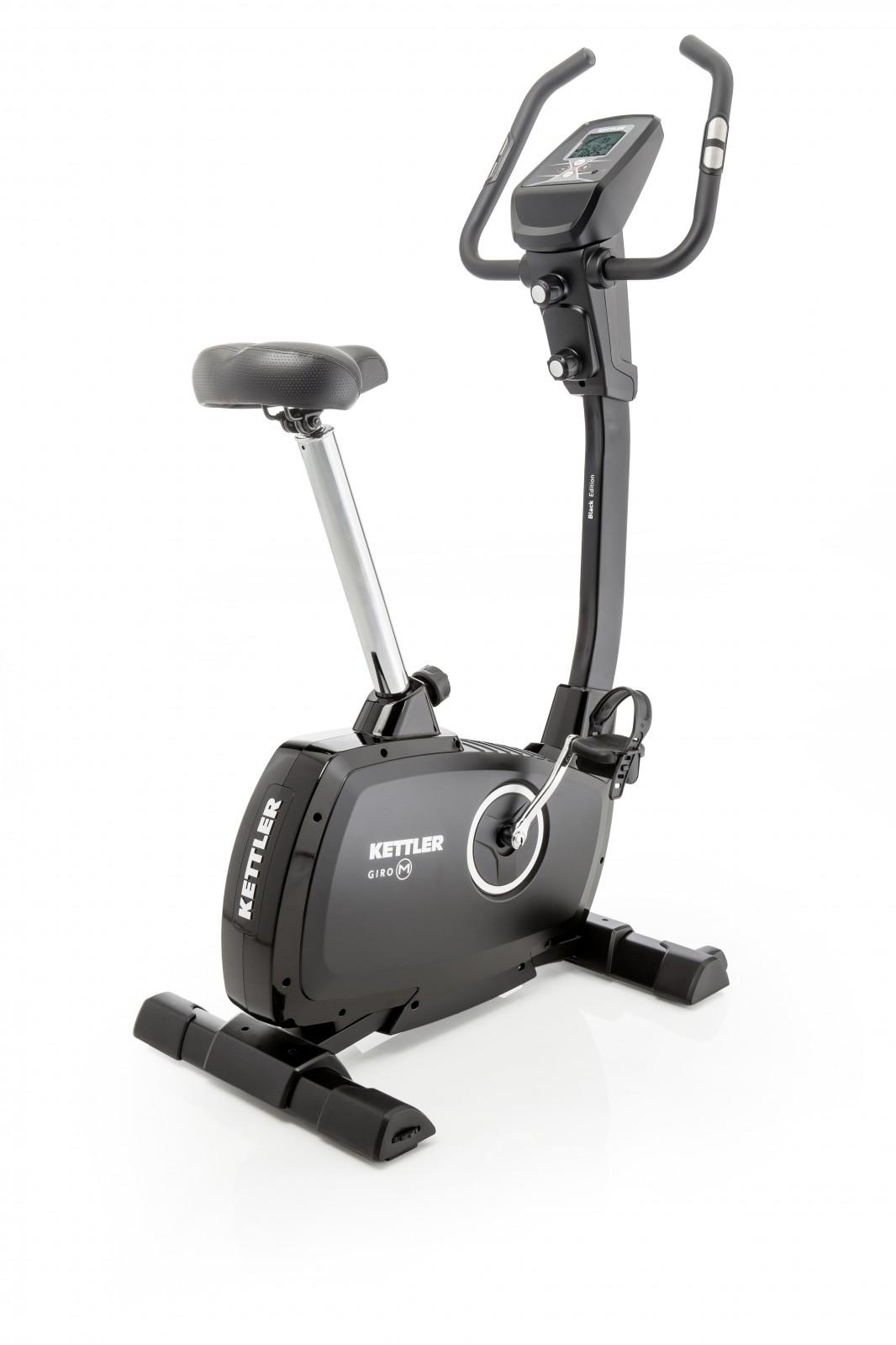 kettler upright bike giro m black buy with 11 customer ratings sport tiedje. Black Bedroom Furniture Sets. Home Design Ideas