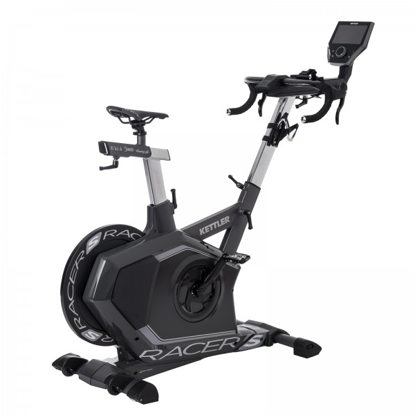 Kettler Indoor Bike Racer S eksklusiv model inkl. Kettler World Tours 2.0